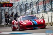 Patrick van Glabeke - Frederique Jonckheere - Ferrari 458 GT3 - Curbstone FMA Racing - Supercar Challenge Super GT - Finale Races 2014 - TT-Circuit Assen