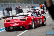 Martin Lanting - Bob Herber - Ferrari 458 GT2 - Martino Rosso Racing - Supercar Challenge Super GT - Finale Races 2014 - TT-Circuit Assen