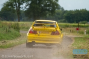 Ronald Leemans - Remco van Overdijk - Mitsubishi Lancer EVO 6 - Autosoft Vechtdal Rally Hardenberg 2014