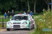 Will Bruins - Mark Schuitert - Opel Astra G KitCar - Autosoft Vechtdal Rally Hardenberg 2014