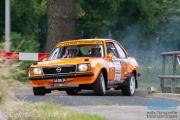 Arno van Beek - Hendri van Beek - Opel Ascona - Autosoft Vechtdal Rally Hardenberg 2014