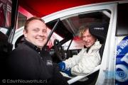 Jasper van den Heuvel - Michiel Eckhaus - Mitsubishi Lancer EVO 10 R4 - Autosoft Vechtdal Rally Hardenberg 2014
