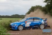 Kevin Kooijman - Hans van Goor - Mitsubishi Lancer EVO 10 R4 - Autosoft Vechtdal Rally Hardenberg 2014