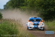 Wouter Ploeg - Harm van Koppen - BMW 1M Coupe - Autosoft Vechtdal Rally Hardenberg 2014