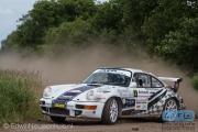 Harry Kleinjan - Mark Bent - Porsche 964 RSR - Autosoft Vechtdal Rally Hardenberg 2014