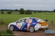 Michiel Eckhaus - Jac Gillis - Mitsubishi Lancer EVO 10 R4 - Autosoft Vechtdal Rally Hardenberg 2014