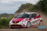 Ruurd Ochse - Jan-Albert Bosscha - Honda Civic Type-R R3 - Autosoft Vechtdal Rally Hardenberg 2014