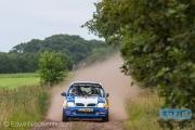 Wilbert van den Burg - Niek Oude Luttikhuis - Nissan Micra - Autosoft Vechtdal Rally Hardenberg 2014