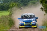 Erik Huisman - Liza Huisman - Chevrolet Kalos - Autosoft Vechtal Rally Hardenberg 2014