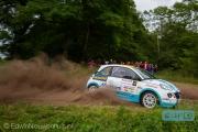 Timo van der Marel - Rebecca Smart - Autosoft Vechtdal Rally Hardenberg 2014