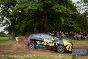 Henk van de Riet - Harmen Scholtalbers - Ford Fiesta R2 - Autosoft Vechtdal Rally Hardenberg 2014
