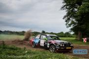 Wesner Averesch - Vincent Knuwer - BMW 325i E30 - Autosoft Vechtdal Rally Hardenberg 2014