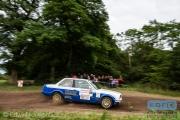 Gerwin Voortman - Jouter Feddema - BMW 325i E30 - Autosoft Vechtdal Rally Hardenberg 2014