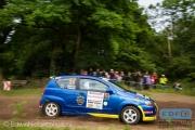 Erik Huisman - Liza Huisman - Chevrolet Kalos - Autosoft Vechtdal Rally Hardenberg 2014