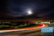 Racen in het donker tijdens de DNRT WEK Autosportinfo.com Nieuwjaarsrace 2015 - Circuit Park Zandvoort