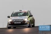 De Groot - Bleekemolen - Renault Clio - Team Bleekemolen - DNRT WEK Autosportinfo.com Nieuwjaarsrace 2015 - Circuit Park Zandvoort