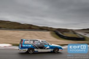 Christ van der Peijl - Michel le Noble - REC Racing - Volvo 850 T5 - DNRT WEK Autosport.com Nieuwjaarsrace 2015 - Circuit Park Zandvoort