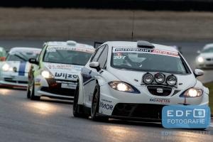 Martin van den Berge - Gijs Bessem - Just Motorsport - NKPP Racing - SEAT Leon Supercopa - DNRT WEK Autosportinfo.com Nieuwjaarsrace 2015 - Circuit Park Zandvoort