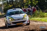 Martijn van Hoek - Sonny Vangerven - Peugeot 206 RC - Conrad Euregio Rally 2014