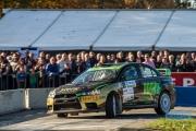Antoine van Ballegooijen - Johan Findhammer - Mitsubishi Lancer EVO 10 - Conrad Euregio Rally 2014