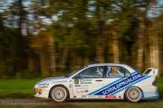 Ernst Kranenburg - Peter van Teunenbroek - Mitsubishi Lancer EVO 8 - Conrad Euregio Rally 2014