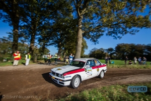 Maik Willems - Gijs Boom - BMW 325i - Conrad Euregio Rally 2014