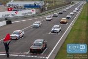 Startveld BMW E30 Cup - Auto's A - DNRT Finale Races - Circuit Park Zandvoort