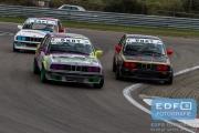 Lucas Alders - Bas Nederlof - BMW E30 - E30 Cup - Auto's A - DNRT Finale Races - Circuit Park Zandvoort
