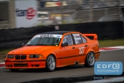 Joop Arendsen - Hendrik van Houtum - BMW E36 - Auto's A - DNRT Finale Races - Circuit Park Zandvoort