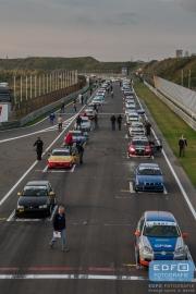 Startgrid DNRT Endurance Finale Races op Circuit Park Zandvoort
