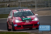 DNRT Endurance Finale Races 2014 op Circuit Park Zandvoort - The Dukes - VW Golf TDi