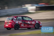 DNRT Endurance Finale Races 2014 op Circuit Park Zandvoort - The Dukes - Jan Evers - Henny van Doorn - VW Golf TDi