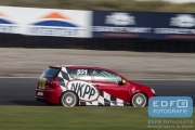 DNRT Endurance Finale Races 2014 op Circuit Park Zandvoort - Gijs Bessem en Harry Hilders - VW Golf TDi
