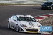 DNRT Endurance Finale Races 2014 op Circuit Park Zandvoort - Emiel de Bekker en Han Kolenaar - Toyota GT86 Cup
