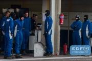 DNRT Endurance Finale Races 2014 op Circuit Park Zandvoort - Het team van Bas Koeten Racing klaar voor de volgende pitstop