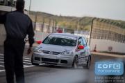DNRT Endurance Finale Races 2014 op Circuit Park Zandvoort - Pitstop Match MPO - VW Golf TDi