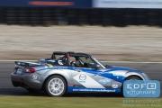 DNRT Endurance Finale Races 2014 op Circuit Park Zandvoort - Mazda Endurance Challengers - Mazda MX5