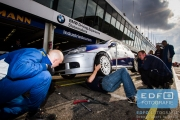 DNRT Endurance Finale Races 2014 op Circuit Park Zandvoort - Pitstop - VW Golf TDi