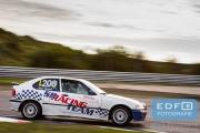 DNRT Endurance Finale Races 2014 op Circuit Park Zandvoort - Hans Herman - BMW 318 Compact