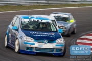 DNRT Endurance Finale Races 2014 op Circuit Park Zandvoort - Accord - MDM Motorsport - VW Golf TDi