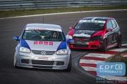 DNRT Endurance Finale Races 2014 op Circuit Park Zandvoort - Remko Eijling - Pieter Croockewit - VW Golf TDi