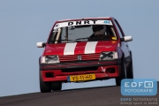 Laurens Kruit - Peugeot 205 GTi - DNRT Toerklasse - DNRT Racing Days 1 2015 - Circuit Park Zandvoort