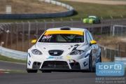 Berry Arendsen - SEAT Leon Supercopa - DNRT Sportklasse - DNRT Racing Days 1 2015 - Circuit Park Zandvoort