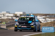 Piet de Gier - Renault Clio - DNRT Sportklasse - DNRT Racing Days 1 2015 - Circuit Park Zandvoort