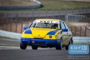 Martin Eindhoven - Ford Sierra - DNRT Toerklasse - DNRT Racing Days 1 2015 - Circuit Park Zandvoort