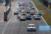 Start DNRT Toerklasse - DNRT Racing Days 1 2015 - Circuit Park Zandvoort
