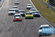 Start DNRT B18 klasse - DNRT Racing Days 1 2015 - Circuit Park Zandvoort