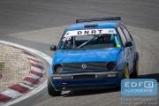 Johannes Gerrits - VW Golf - DNRT Toerklasse - DNRT Racing Days 1 2015 - Circuit Park Zandvoort