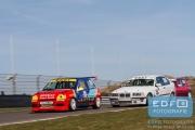 Rene Sansces - Renault Clio - DNRT Toerklasse - DNRT Racing Days 1 2015 - Circuit Park Zandvoort