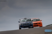 Peter Terlouw - BMW E46 - Patrick Tieman - BMW E36 - Supersportklasse - DNRT Super Race Weekend - Circuit Park Zandvoort